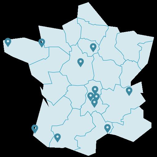 Stations en France